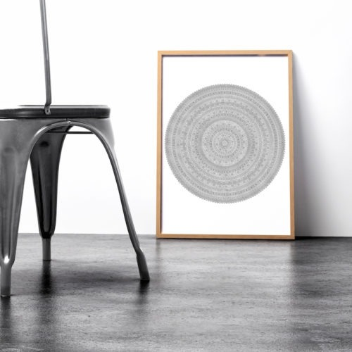 giant mandala coloring poster mandala wall art coloring books
