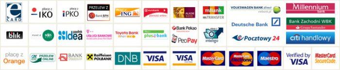 Płatności za pośrednictwem eCard S.A. - Regulamin