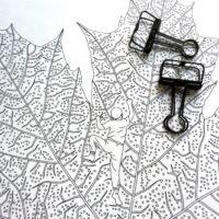 coloring book enchanting escape autumn leaf
