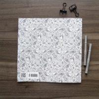 coloring book enchanting escape pattern