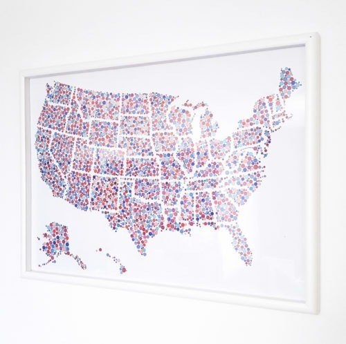 US coloring map travel map USA coloring poster United States