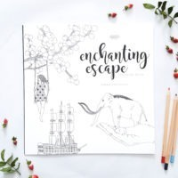 enchanting escape adults magical coloring book