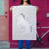 giantcolouringpages-unicorn
