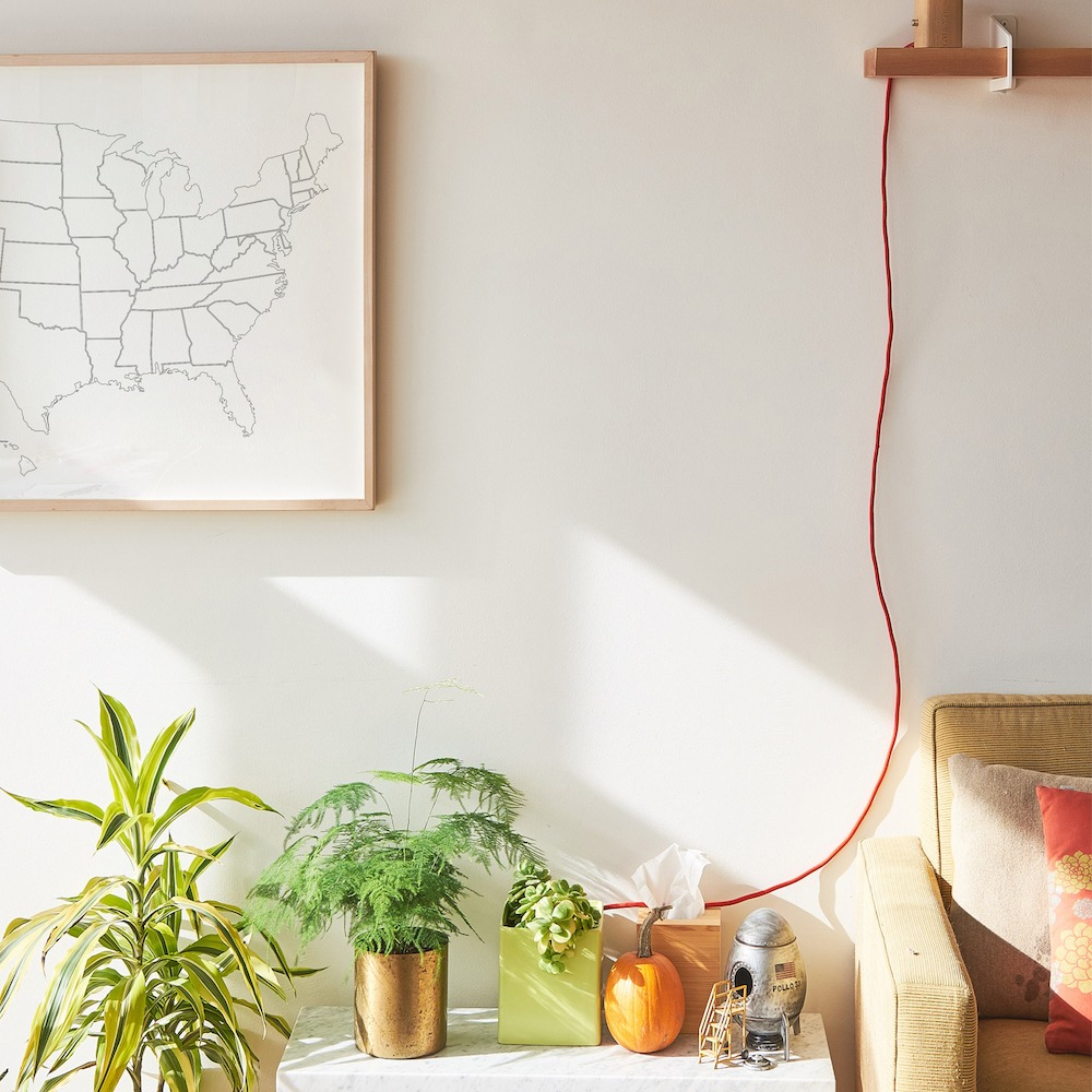 large coloring poster with a plain outlines map of usa to color in