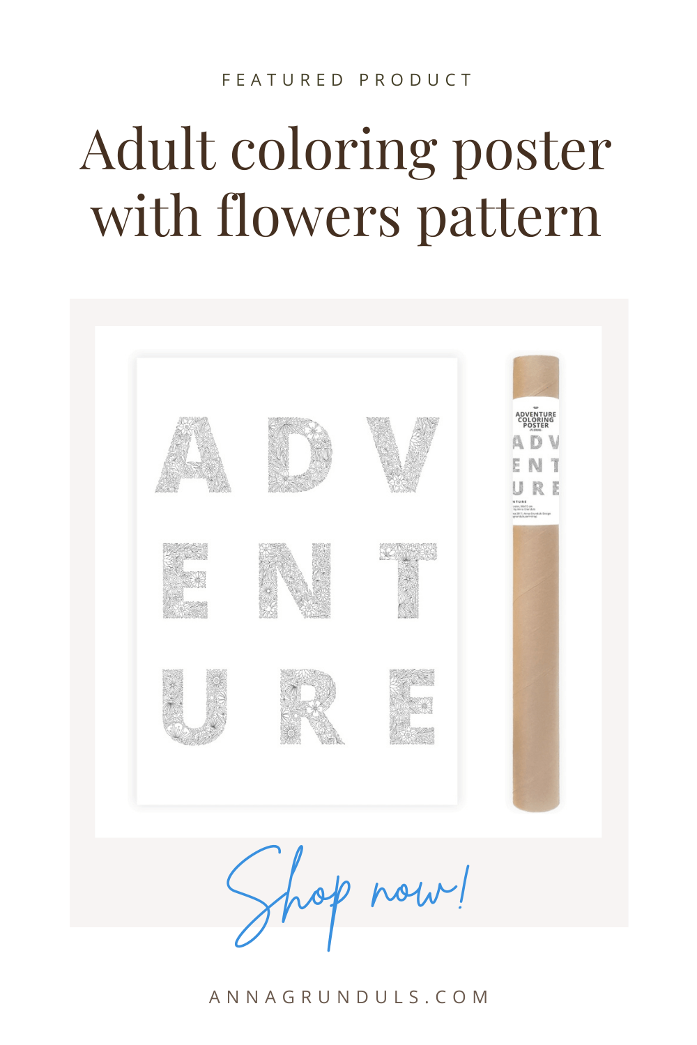 adventure poster for adult coloring pinterest pin