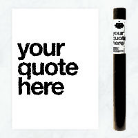 custom quote coloring poster