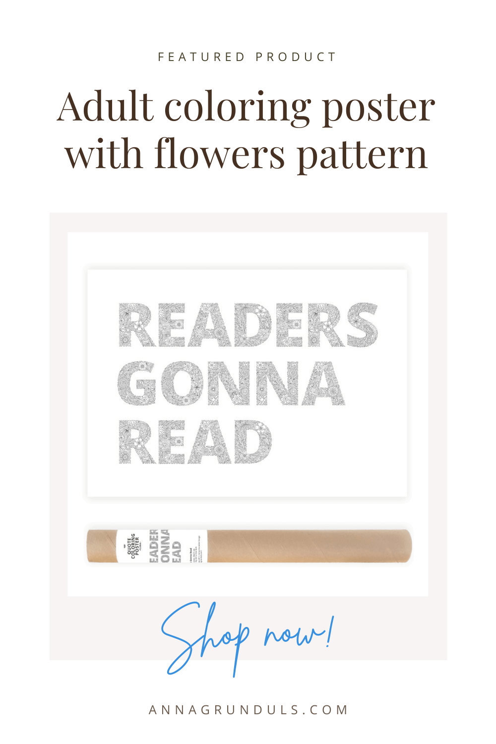 readers gonna read poster for adult coloring pinterest pin