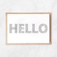 hello coloring postcard floral patterns flowers hello lettering postcard to color in