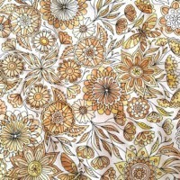 Instagram Adult Coloring with Tea Painting with Tea watercolor sepia effect