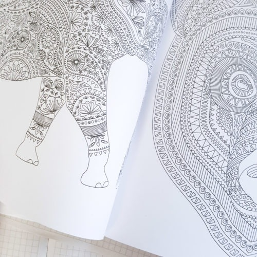 Kaisercraft Coloring Book Adult Coloring Book Pages