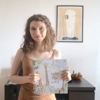 Kaisercraft Coloring Book Into the Wild Illustrator Author Anna Grunduls Design