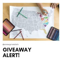 Anna Grunduls Design Coloring Poster Giveaway