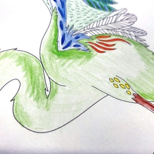 Adult Coloring Page Streamline Your Coloring Process Picture by Jules Fox