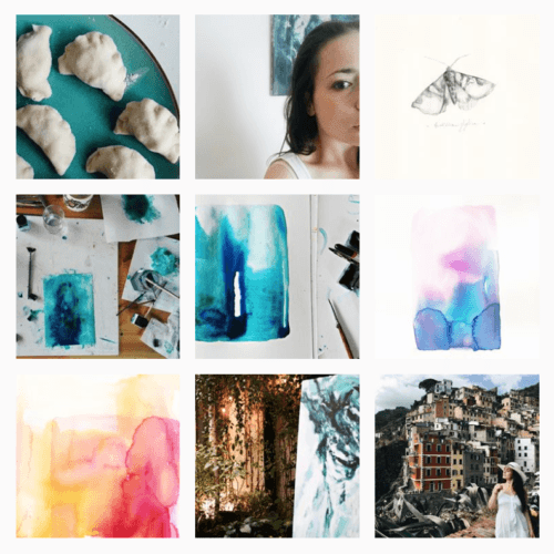 Interview with Painter Magdalena Salome about Colors and Creative Process