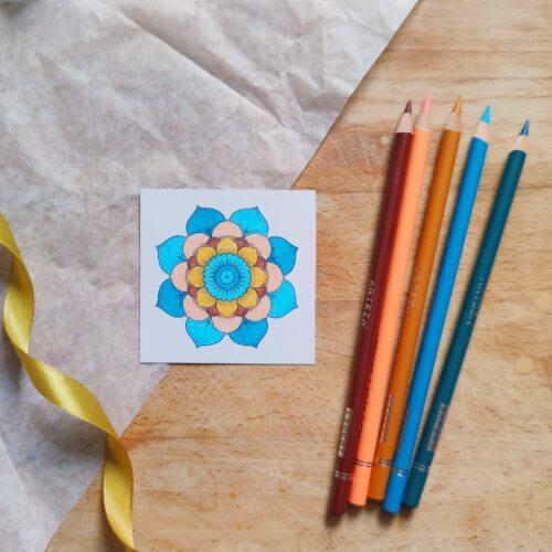 Arteza Colored Pencils Professional Color Combination Swatch Paint Chips