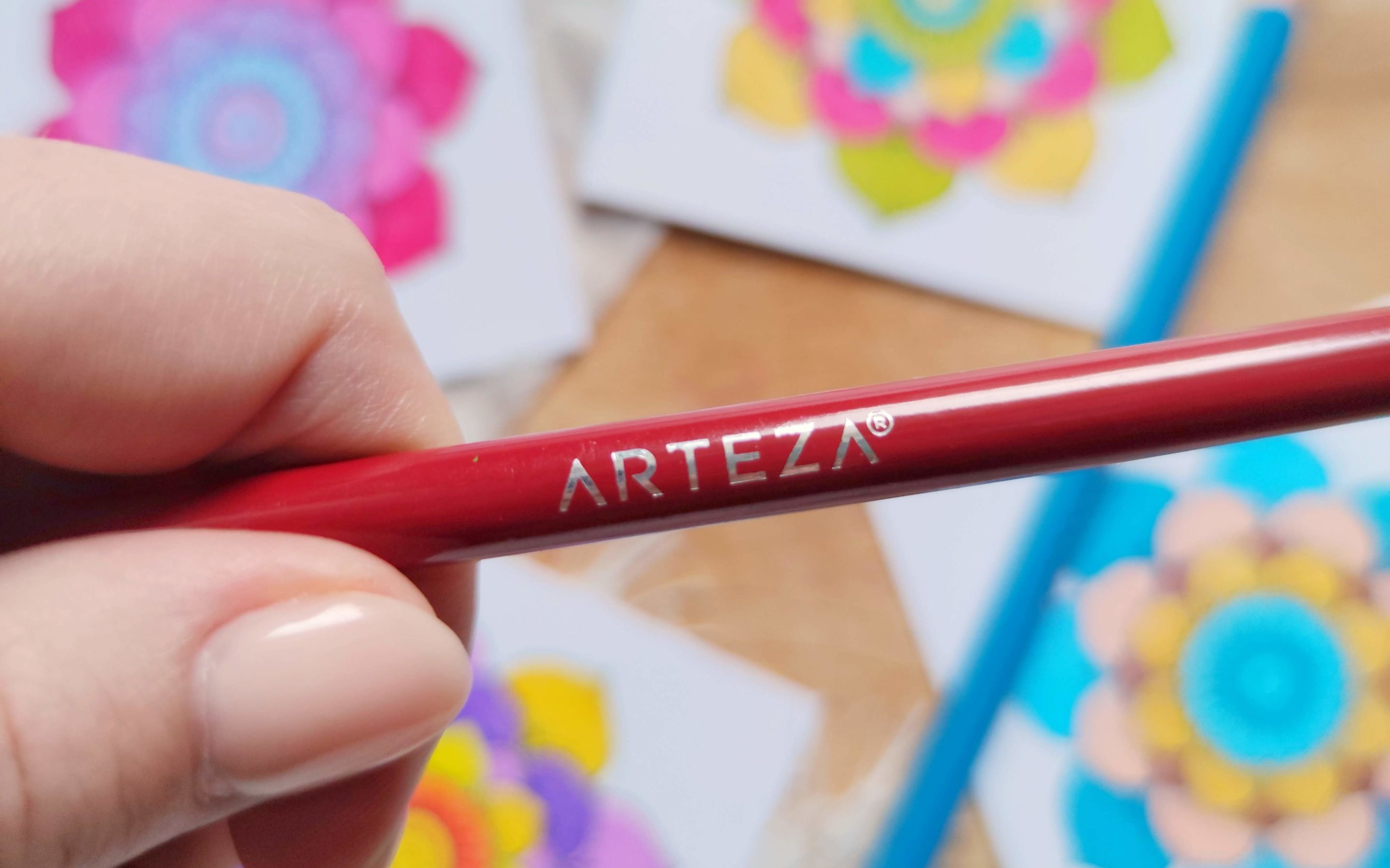 Using Arteza Expert Colored Pencils for Adult Coloring