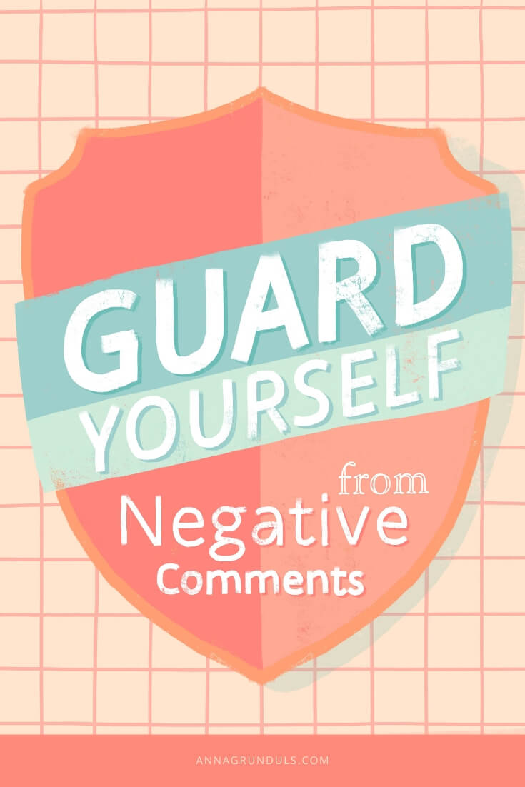 Guard Yourself from Negative Comments Pin