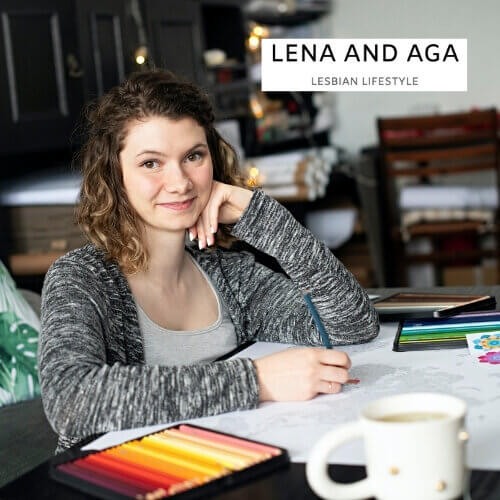 Lena and Aga Lesbian Lifestyle Feature about Small Business Anna Grunduls Design