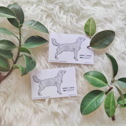 beautiful stickers dog silhouette dog breed