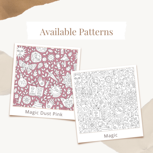 Custom Logo Coloring Poster Available Patterns Magic